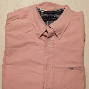 TOMMY HILFIGER men's long sleeve button down